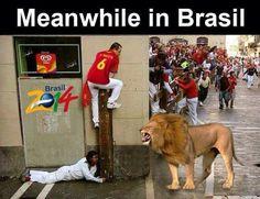 WK 2014, vrijdag 13 juni. Nederland-Spanje ;)