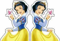 Cap Cake, Snow White Birthday, Prince Party, Edible Cupcake Toppers, Disney Princess Party, Baby Party, Princesas Disney, Paper Dolls, Party Time