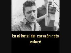 ELVIS PRESLEY - Heartbreak hotel ( con subtitulos en español  ) BEST SOUND