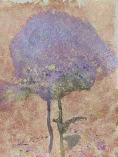 Modern Abstract Art Watercolor Painting Violet by LamArtStudio, $36.00    ...BTW,Please Check this out:  http://artcaffeine.imobileappsys.com