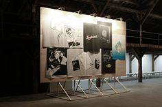 White noise, bureau sacha von der potter, 2012, exhibition design and graphic design