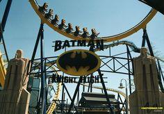Batman Knight Flight - Geauga Lake