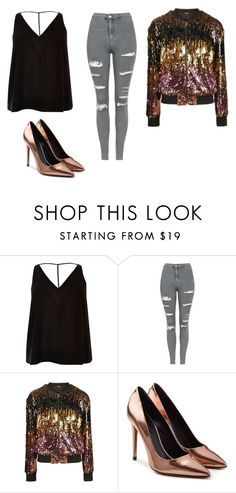 """Bez tytułu #136"" by maryb96 on Polyvore featuring moda, River Island, Topshop i Alexander Wang"