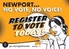 Tweeted by @thenewporters - People who didn't vote in the last general election outnumbered the votes for any individual party. #registertovote