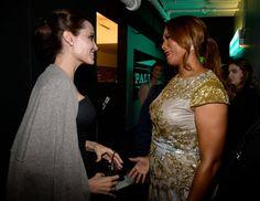 Pin for Later: All' eure Lieblingsstars drängelten sich bei den Hollywood Film Awards Angelina Jolie und Queen Latifah