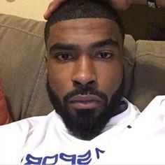 bald black men with beards Fine Black Men, Gorgeous Black Men, Handsome Black Men, Fine Men, Beautiful Men, Handsome Man, Dark Man, Black Men Beards, Beard Game