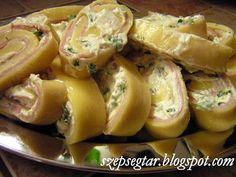 Szépségtár: Hidegkonyha - töltött sajt