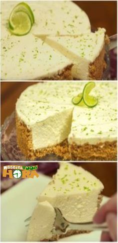 Cheese cake sin horno cakes 39 Ideas for 2019 Dessert Drinks, Desserts, No Bake Treats, Cheesecake Recipes, Love Food, Sweet Recipes, Bakery, Food And Drink, Yummy Food