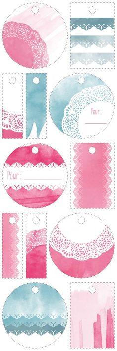 Imprimibles: Etiquetas para bautizo galletas y dulces