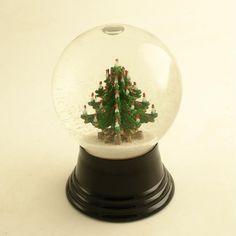 antique snow globe