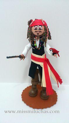 Jack Sparrow » Fofuchas en La Coruña -Galicia- España-missmiluchas