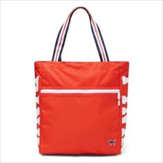 5025d738b645 Victoria secret PINK zip tote orange Totes perfect for the beach! This zip  top bag has ample room to stash all your sunny day essentials.