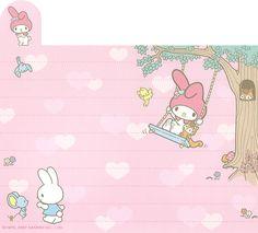 "Sanrio My Melody ""Variety"" Memo (Sheet) (1) | crazysugarbunny | Flickr"