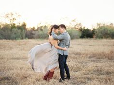 Gorgeous outdoor engagement photos couple standing in a field in the fall - Photo by Joshua Aull Photography Engagement Photography, Engagement Session, Wedding Photography, East Coast Style, Outdoor Engagement Photos, Russian Wedding, Simple Acrylic Paintings, Fall Photos, Always And Forever
