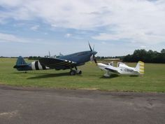 Spitfire with Corby Starlet