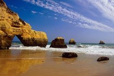 Praia da Rocha, in Algarve, south of Portugal.