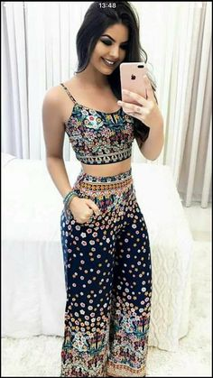 Simple Summer to Spring Outfits to Try in 2019 Cute Summer Outfits, Spring Outfits, Cute Outfits, Casual Wear, Casual Outfits, Fashion Outfits, Love Fashion, Womens Fashion, Fashion Design