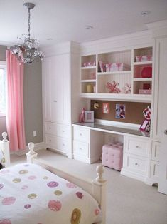 built-in vanity wall unit