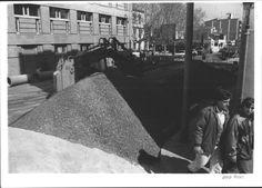 1997 salt Obres al carrer Àngel Guimerà Salt, Street View, Angel, Pictures, Salts, Angels