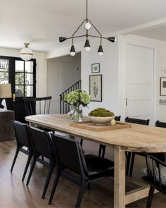 Dining Nook, Dining Room Design, Dining Room Table, Oak Table, Br House, Dining Room Inspiration, Interior Inspiration, Design Blogs, Design Ideas