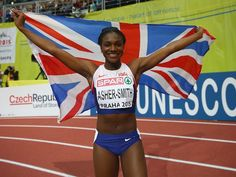 Result: Dina Asher-Smith scrapes through to women's 200m final