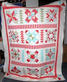 2012 Designer Mystery Quilt, from Fat Quarter Shop