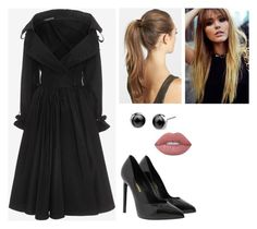 """""""Başlıksız #1354"""" by begum-06 ❤ liked on Polyvore featuring Alexander McQueen, Yves Saint Laurent, France Luxe and Lime Crime"""