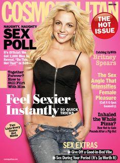 Cosmopolitan August 2010 cover #britneyspears