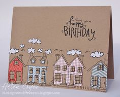 The Dining Room Drawers: Stampin' Up Birthday Card