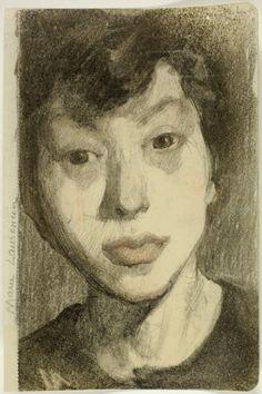 Marie Laurencin, Self-Portrait/