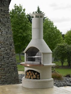 Buschbeck Opus Masonry BBQ From Fireplace Products | BBQ's ...