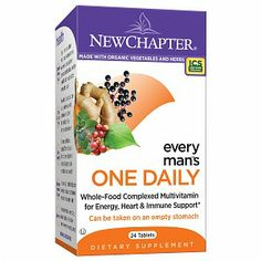 New Chapter Every Man One Daily: Dietary Supplement Made With Organic Vegetables Herbs