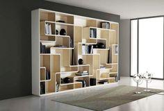 Modern Bookshelves Decorating for Home