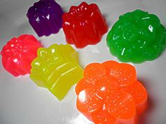 Jelly Soaps :D