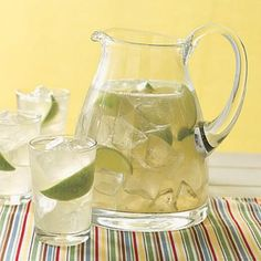 Put a spicy spin on a traditional summer drink with this tart and sweet ginger limeade.
