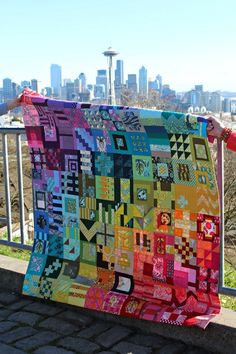 A Quilter's Table: City Sampler Quilt Along :: Finally Unlocked