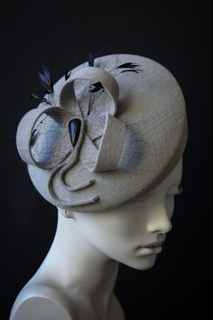 Шляпка clover and mist  #hat #couturehat #millinary #chapeauegoiste #designerhats #fashionhats #fascinator #derbyhats #pillbox