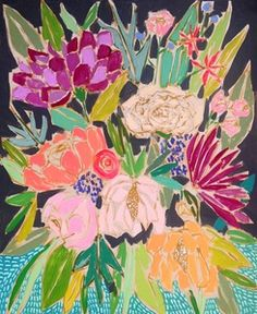 Image of 24x30 Flower for Patsy 575.00