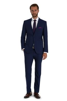 Ted Baker Tailored Fit Blue Mix And Match Suit Jacket
