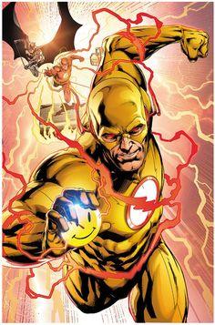 Reverse Flash by Jason Fabok Flash Comics, Arte Dc Comics, Flash Art, The Flash, Flash Point, Marvel Dc, Marvel Comics, Comic Book Heroes, Comic Books Art