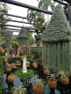Nong Nooch Tropical Botanical Garden in Chonburi Province, Thailand