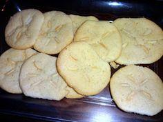 Mom's Tot School: Little Mermaid Birthday Party! Sand dollar sugar cookies