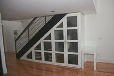 under stairs storage - coat closet?