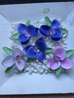 Papier Orchideen