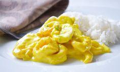Das Rezept für Bananencurry kann eine leckere Beilage sein, oder auch mit Reis eine gute Vorspeise.