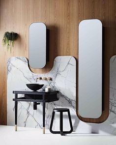 Modern Apartment Bathroom Decor Ideas on a Budget (DIY) Bathroom Interior Design, Interior Decorating, Decorating Bathrooms, Bathroom Designs, Modern Interior, Wc Decoration, Design Industrial, Room Tiles, Bathroom Trends
