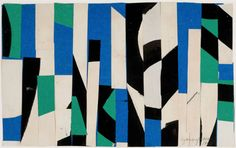Jack Youngerman | 'White Blue Construction', 1951 Artwork, Art, Post Painterly Abstraction, Design Art, Artwork Painting, Painting Reproductions, Painting, Abstract Painting, Oil Painting