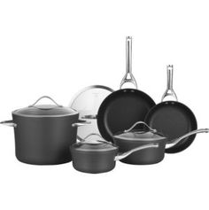 All-Clad® Stainless 5-Piece Starter Cookware Set in Cookware Sets | Crate and Barrel