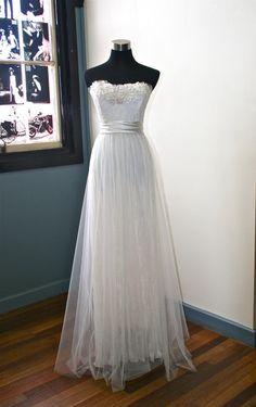 Ethereal Garden Wedding Dress by sunnybythesea on Etsy, $1380.00