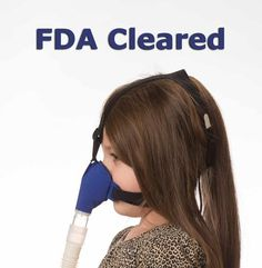 Circadiance SleepWeaver Advance Pediatric Soft Cloth CPAP Mask - CPAPUSA.com